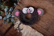 Plüschtier für Objektivlinse Maus