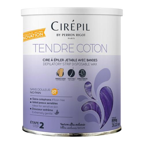 Cire Épilation Wax Tendre Coton Cirépil 800g