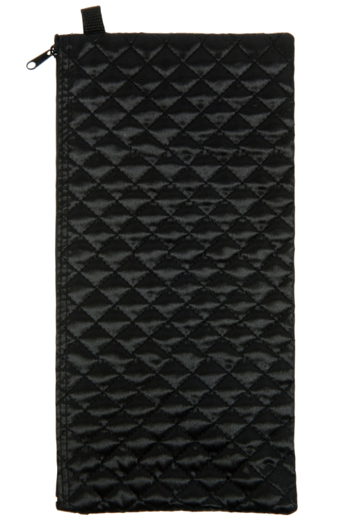 Black Quilted Pouch