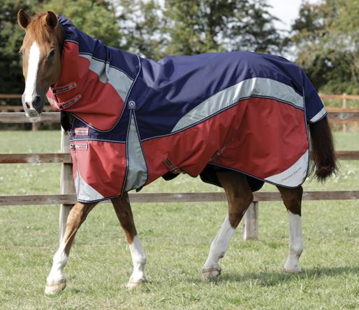 Nardus Stratus 0g Turnout Rug with Neck Cover